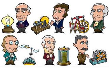 Inventors cartoons