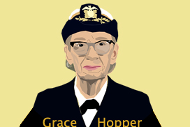 "Rear Admiral ""Amazing"" Grace Hopper"